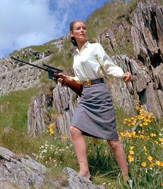 Tania Mallet as Tilly Masterson, Goldfinger.