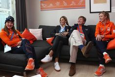 February 10, 2018, King Willem-Alexander and Queen Maxima visited Gangneung Olympic Village in Pyeongchang-gun, South Korea. King Willem Alexander, Queen Maxima and Dutch Prime Minister Mark Rutte met with Olympics athletes. The Dutch Winter Olympic team aims to bring back at least 15 medals from Pyeongchang.