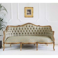 Buy The Beautifully Designed Versailles Damask Sofa, By The French Bedroom  Company. Shop 24 Hours A Day For Effortless Luxury Online.