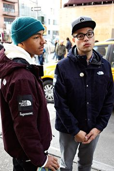 Supreme x the north face – fall/winter 2012 capsule collection urban fashion, dope Urban Fashion, Mens Fashion, Fashion Outfits, Street Fashion, Supreme Brand, Supreme Clothing, Vogue, Comme Des Garcons, Lookbook