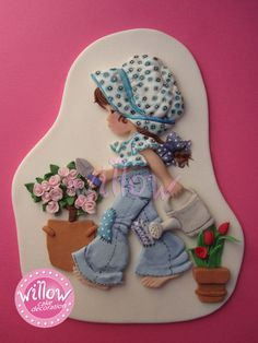 Sarah Kay, fondant cake decorations