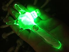 An LED glass pipe. $67.00, via Etsy. LOOOL