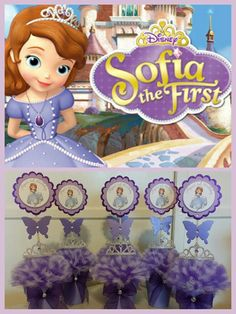 Sofia the First Centerpieces