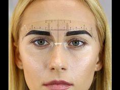 Eyebrow Ruler (Roll of 50) – Daria Chuprys Permanent Makeup Academy