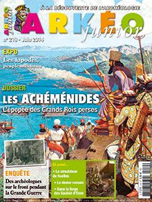 Arkeo Junior - French history magazine for children