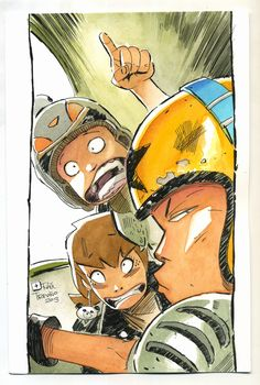 A panel from my comic by raultrevino on deviantART Trevino Art, Vanishing Point, Art Reference, Watercolors, Watercolor Art, Perspective, Anime, Animation, Deviantart