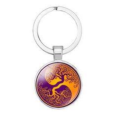 Schlüsselanhänger Yin Yang Lebensbaum Dreambase Yin Yang, Personalized Items, Machine Learning, Suitcase, Birthday, Bags, Gifts