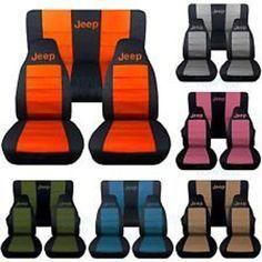 Jeep Wrangler Yj, Jeep Cj, Jeep Mods, Jeep Rubicon, Blacked Out Jeep Wrangler, Wrangler Sahara, Jeep Seat Covers, Jeep Seats, Jeep Wrangler Seat Covers