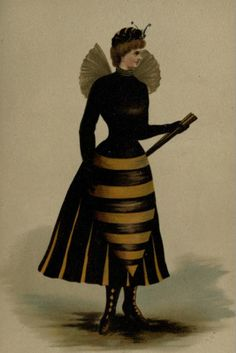 Halloween - Victorian Bumble Bee
