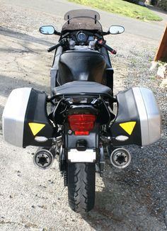 2003 CBR 1100 XX with Europe-only Honda OEM panniers Panniers, Fuel Injection, Blackbird, Cbr, Cars And Motorcycles, Touring, Honda, Europe, Bike