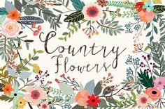 Floral Bundle by Mia Charro on @creativemarket
