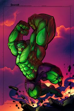 #Hulk #Animated #Fan #Art. (Hulk) By: Dominic O'Neill. (THE * 3 * STÅR * ÅWARD OF: AW YEAH, IT'S MAJOR ÅWESOMENESS!!!™)[THANK Ü 4 PINNING!!!<·><]<©>ÅÅÅ+(OB4E)