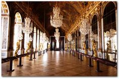 France.  Palace of Versailles.