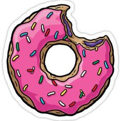 simpsons donut homer - Google Search  stickers!
