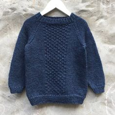 Image of Carl Sweater Str. Boys Knitting Patterns Free, Baby Cardigan Knitting Pattern Free, Knitting For Kids, Free Knitting, Baby Sweaters, Image, Diy Crafts, Inspiration, Design
