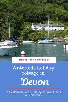 No 2 Old Coastguard's Cottage, Waterside Rental in Devon, Sleeps 6 Best Beaches In Europe, Best Places To Travel, Holiday Cottages Uk, Character Cottages, Devon Cottages, Visit Devon, Dartmoor National Park, Devon England, Uk Holidays