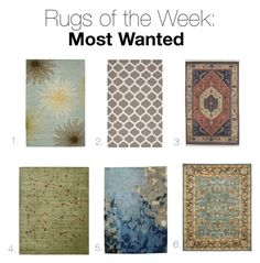 """Rugs of the Week: Nov. 15"" by vivianrugstudio ❤ liked on Polyvore featuring interior, interiors, interior design, home, home decor, interior decorating, Safavieh, Surya and Nourison"