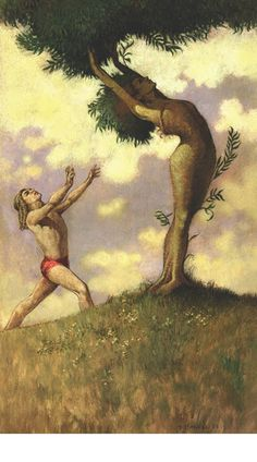Troy Howell - Apollo and Daphne. Tags: apollo, apollon, daphne, dafne, transformations, metamorphoses,