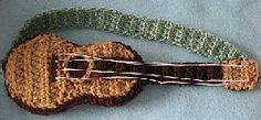 free pattern for mini guitar