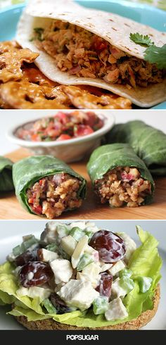These light dinners won't leave you feeling too full before bed, but they're still packed with the nutrition you need. Each have over 10 grams of protein and are 350 calories or less per serving!