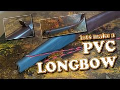 PVC LONGBOW - tutorial Thanks for watching folks, the bow was fun to make and as you can see rather easy for you to do yourselves. This Bow will draw around . Bush Craft, Pvc Projects, Longbow, Apocalypse Survival, Bow Hunting, Crossbow, Shtf, How To Make Bows, Archery