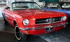 Ford Mustang @ Classic Car Museum Hakodate, Japan by mambo1935, via Flickr
