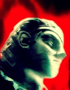 Sphinx Before The Flames of a Mortal's Heart by Nic Laight, via Flickr