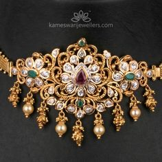 Turquoise Jewelry Is Quite Lovely Vanki Designs Jewellery, Gold Earrings Designs, Gold Jewellery Design, Necklace Designs, Gold Designs, Designer Jewellery, Gold Jewelry Simple, Silver Jewelry, Simple Necklace