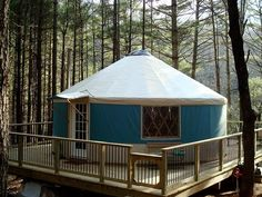 Blue Ridge Yurts - Gallery