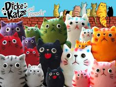 Dicke Katze & Friends Fat Cat Plush