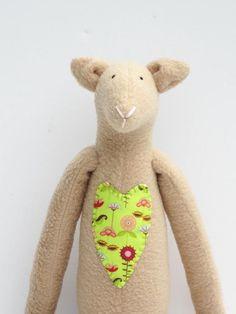 Sheep lamb toy softie plush stuffed toy for by HappyDollsByLesya