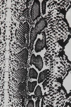 Black & white snakeskin pattern, textile print design // Equipment