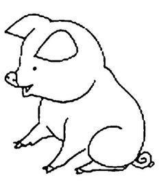 Planse de colorat si fise pentru copii: PORCUL - PLANSE de colorat cu Animale Dmestice Snoopy, Crafty, Fictional Characters, Pork, Fantasy Characters
