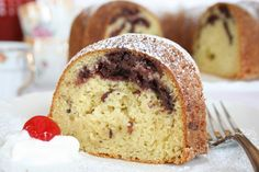 Olive Oil Cake with Cherry Compote | Recipe | Olive Oil Cake, Olive ...