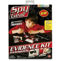 Wild Planet Spy Gear Evidence Kit