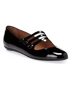 Some of you have to get in on this: Fratelli Rossetti Women's Patent Mary-Jane Flat
