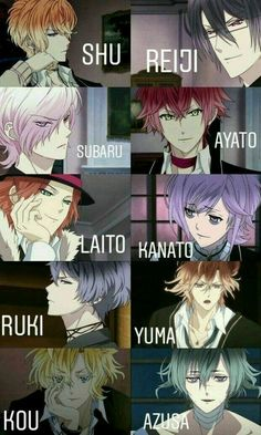 These guys is insane ?You can find Diabolik lovers and more on our website.These guys is insane ?