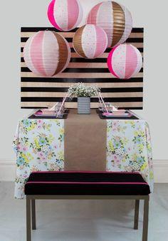 DIY Decorations Ideas, Sources & Budget