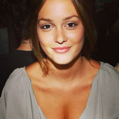 Leighton Meester. She's one of the very few people that I think looks better with no makeup!