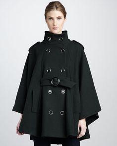 Candice Cape-Sleeve Coat by Rachel Zoe at Bergdorf Goodman.