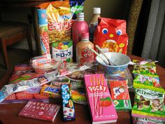 Highly addictive Japanese Snacks for gamers. #japanese #snacks #gamer