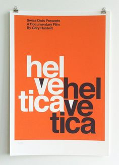 Helvetica Poster - Mad Men