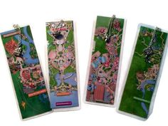 Disney Bookmark Disney Park Maps set of 4 Actual park maps Disney Bookmark Disney Park Maps set of 4 Actual park maps – Disney Crafts Ideas Disney Park Maps, Disney Map, Disneyland Map, Disney World Parks, Disney Trips, Walt Disney, Disney Cruise, Paper Crafts For Kids, Cardboard Crafts
