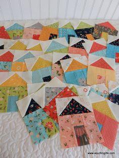 Village House Blocks Update | A Quilting Life - a quilt blog