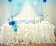 Юбка свадебный на стол