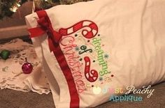 Dreaming of Christmas Applique Machine by JustPeachyApplique, $4.00