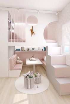 Small Room Design Bedroom, Small House Interior Design, Cute Bedroom Decor, Kids Bedroom Designs, Home Room Design, Bedroom For Girls Kids, Simple Bedroom Design, Girls Room Design, Girls Bedroom Furniture