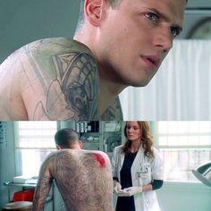 Michael and Sarah #PrisonBreak