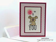 Linda K's Stampin' Page: Valentine's Day Kind Koala