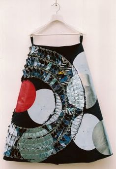 Alison Willoughby  Sushi's. These skirts are made with tie silks.